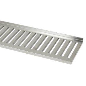 Gallerhyllor 400 mm_ rostfritt stål